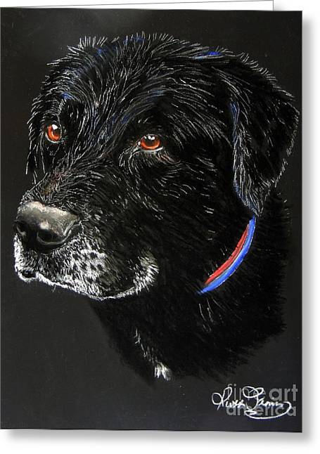 Franklin Pastels Greeting Cards - Franklin Greeting Card by Ruth Jamieson