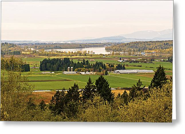 Mann Greeting Cards - Fraser Valley Toll Bridges Greeting Card by Paul W Sharpe Aka Wizard of Wonders