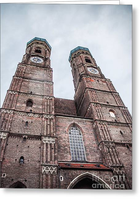 Frauenkirche Greeting Cards - Frauenkirche Greeting Card by Hannes Cmarits