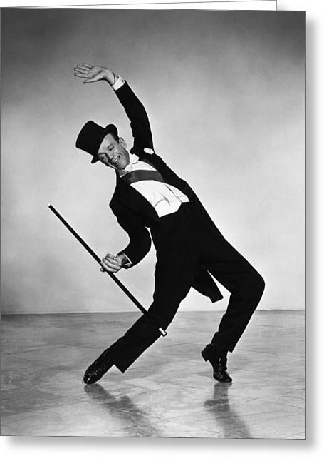 """red Carpet"" Greeting Cards - Fred Astaire Greeting Card by Nomad Art And  Design"