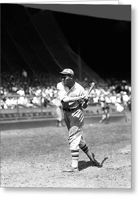 Mlb All Stars Greeting Cards - Fred C. Freddie Lindstrom Greeting Card by Retro Images Archive