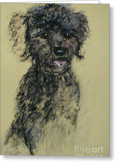 Toys Pastels Greeting Cards - Fred Greeting Card by Cori Solomon