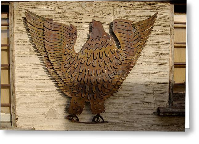 Carved Bird Greeting Cards - Fred  Greeting Card by Gabe Arroyo