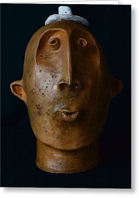 Ceramic Ceramics Greeting Cards - Frederic Greeting Card by Mark M  Mellon