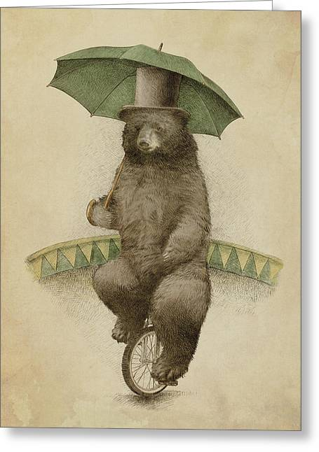 Umbrellas Greeting Cards - Frederick Greeting Card by Eric Fan