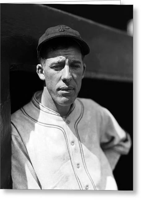 Pittsburgh Pirates Photographs Greeting Cards - Frederick M. Fred Fussell Greeting Card by Retro Images Archive