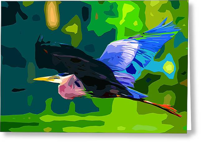 Wade Mixed Media Greeting Cards - Free Bird 2 Greeting Card by Brian Stevens