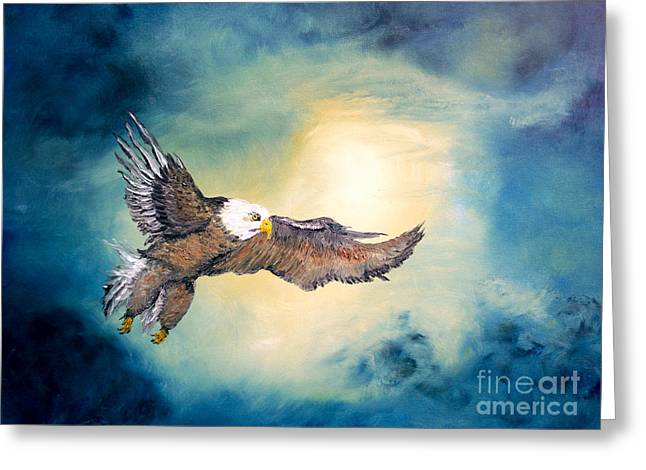 Ecommerce Greeting Cards - Freedom Flyer Greeting Card by Angela Pari  Dominic Chumroo