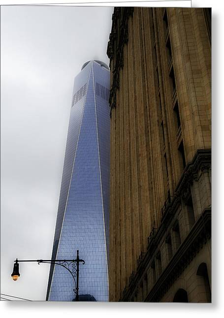 World Trade Centre Greeting Cards - Freedom Tower 6 Greeting Card by Andrew Fare