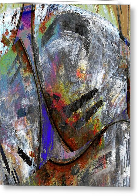 Richard Smukler Greeting Cards - Freefall Greeting Card by Richard Smukler