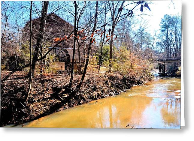 Freeman's Mill Greeting Card by James Potts
