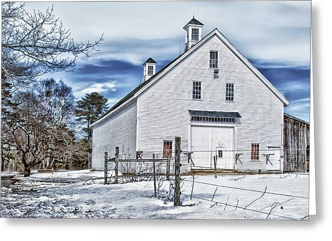 Rural Maine Roads Photographs Greeting Cards - Freeport Delight Greeting Card by Richard Bean