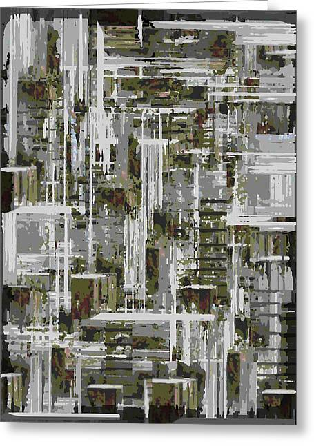 Asymmetrical Greeting Cards - Freeway Park 10 Greeting Card by Tim Allen