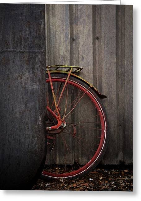 Freehand Greeting Cards - Freewheeling Greeting Card by Odd Jeppesen