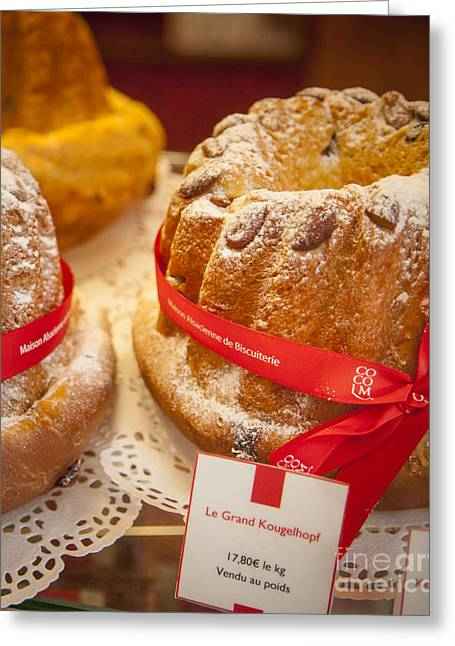 French - Alsace Pastry Greeting Card by Brian Jannsen