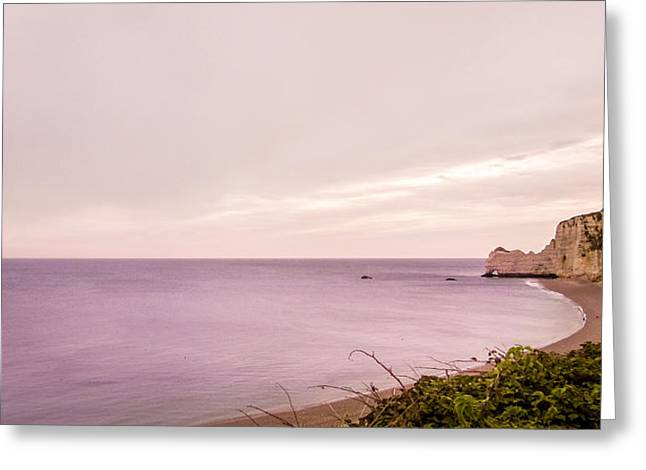 French Coast Greeting Card by Yuri Fineart