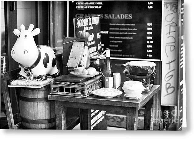 Dairy Foods Greeting Cards - French Dairy Greeting Card by John Rizzuto