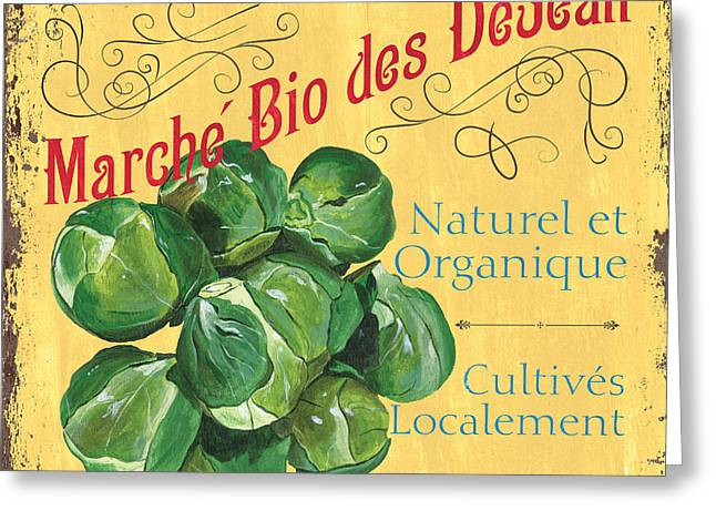 Grow Greeting Cards - French Market Sign 1 Greeting Card by Debbie DeWitt