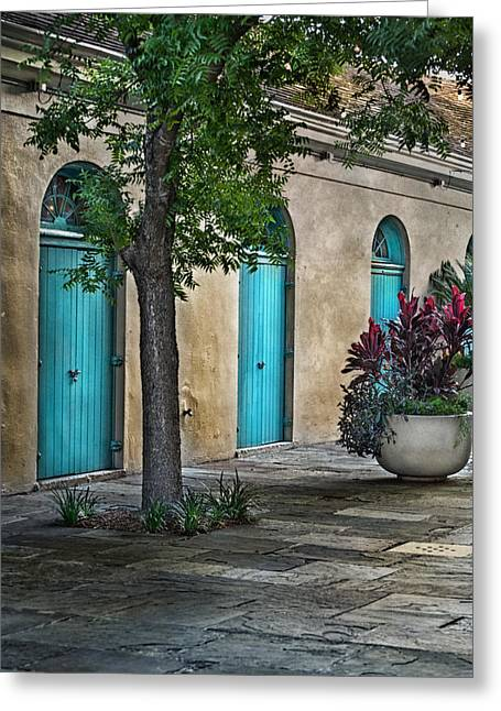 Brenda Bryant Photography Greeting Cards - French Quarter Alley Greeting Card by Brenda Bryant