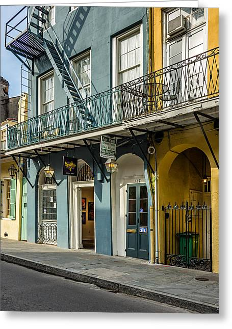 French Doors Greeting Cards - French Quarter Art and Artistry Greeting Card by Steve Harrington