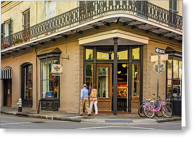 Francais Greeting Cards - French Quarter Art Greeting Card by Steve Harrington