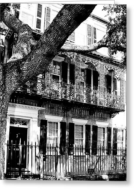 French Quarter Home Greeting Cards - FRENCH QUARTER Charleston SC Greeting Card by William Dey