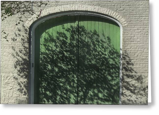 Brenda Bryant Photography Greeting Cards - French Quarter Shadows Greeting Card by Brenda Bryant