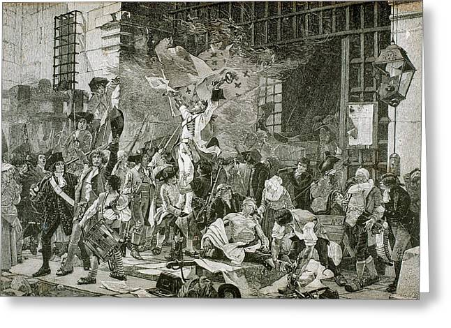 French Revolution Greeting Card by Prisma Archivo