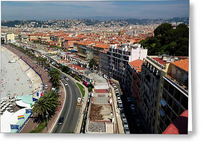 Azur Greeting Cards - French Riviera  Greeting Card by Mountain Dreams