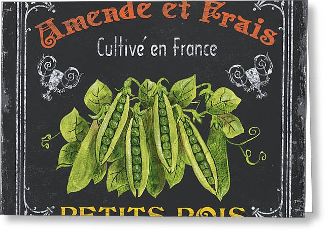 Vegetable Greeting Cards - French Vegetables 2 Greeting Card by Debbie DeWitt