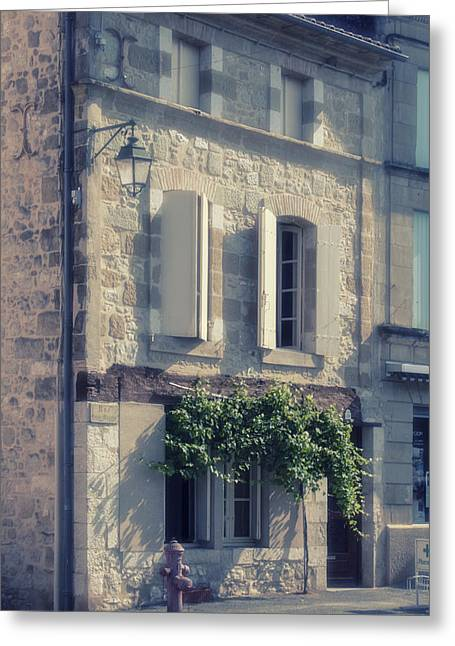 """south West France"" Greeting Cards - French Village House Greeting Card by Nomad Art And  Design"