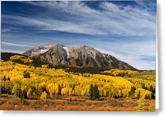 Colorado Mountain Prints Greeting Cards - Fresh Air Greeting Card by Darren  White