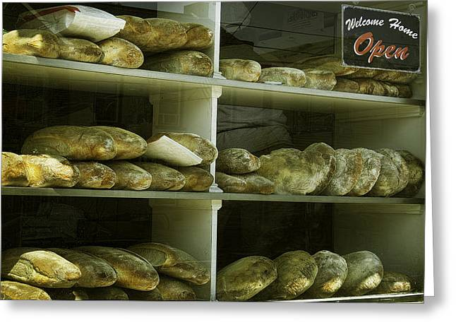 Loaf Of Bread Greeting Cards - Fresh Baked Bread Greeting Card by Ray Summers Photography