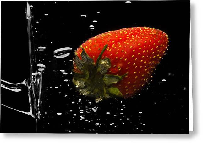 Lemon Art Photographs Greeting Cards - Fresh Greeting Card by Damian Morphou