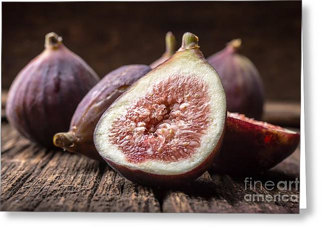 Local Greeting Cards - Fresh Figs Greeting Card by Edward Fielding