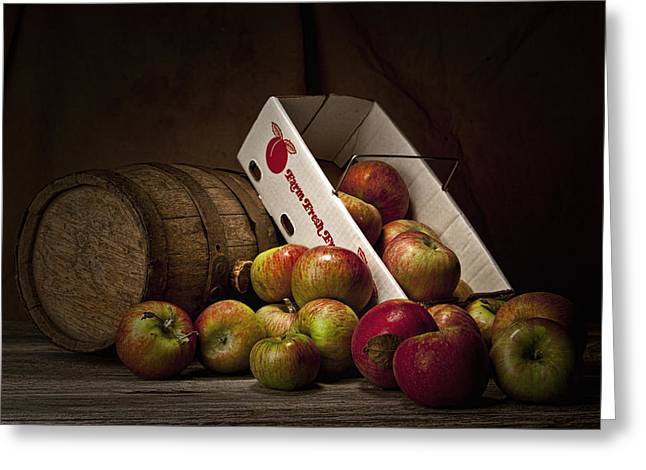 Fresh From the Orchard I Greeting Card by Tom Mc Nemar