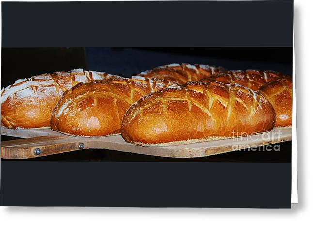 Dinner Party Invitation Greeting Cards - Fresh From The Oven Greeting Card by Marcus Dagan