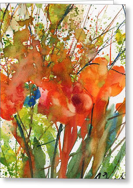 Millbury Greeting Cards - Fresh Pick No.9 Greeting Card by Sumiyo Toribe