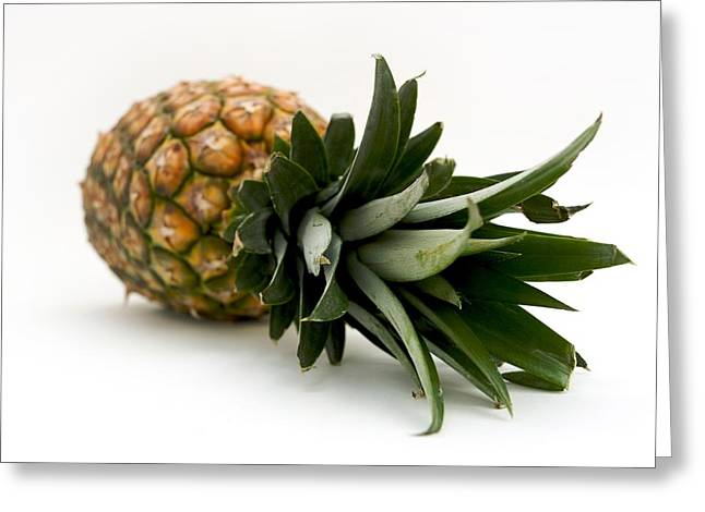 Tropical Fruit Greeting Cards - Fresh pineapple Greeting Card by Bernard Jaubert