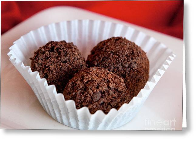 Commercial Photography Greeting Cards - Fresh Rumballs Greeting Card by Iris Richardson