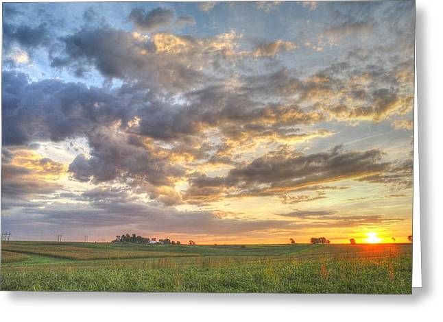 Harvest Photographs Greeting Cards - Fresh Start Greeting Card by Thomas Danilovich