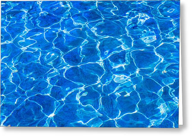 Life Line Greeting Cards - Fresh Water - Horizontal 01 Greeting Card by Alexander Senin
