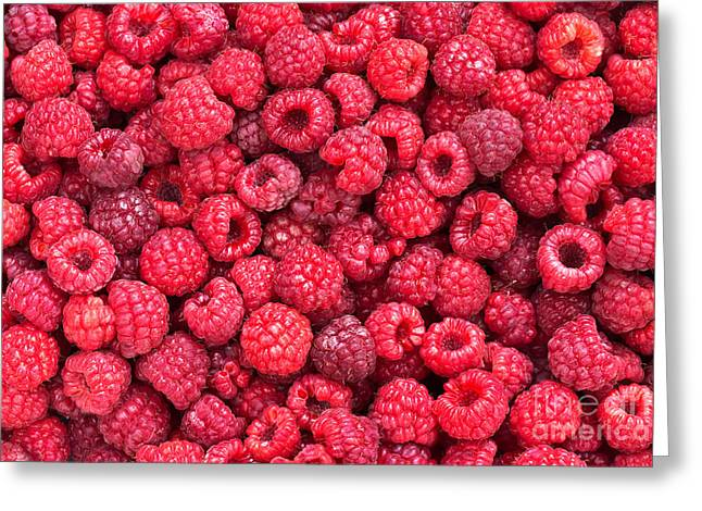 Fresh Food Photographs Greeting Cards - Freshly picked Greeting Card by Delphimages Photo Creations
