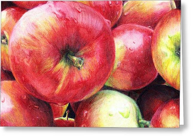 Delectable Greeting Cards - Freshly Picked Greeting Card by Shana Rowe