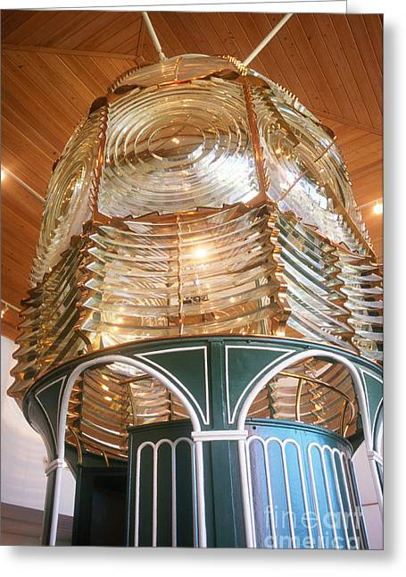 Fresnel Greeting Cards - Fresnel Lens Greeting Card by Eunice Harris