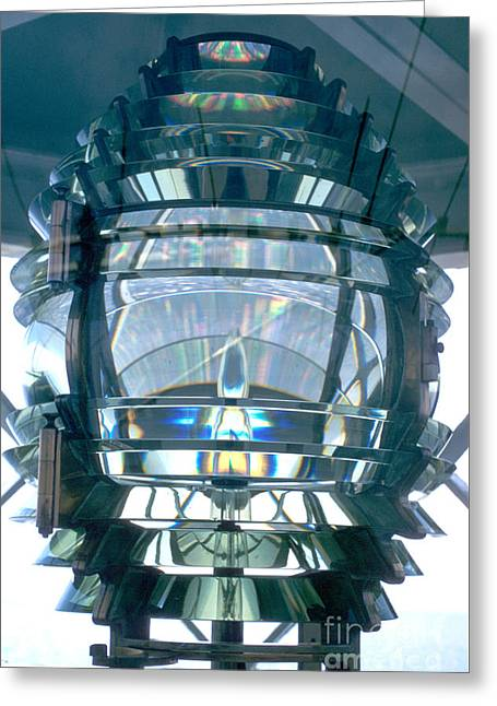 Fresnel Lens Greeting Card by Jerry McElroy