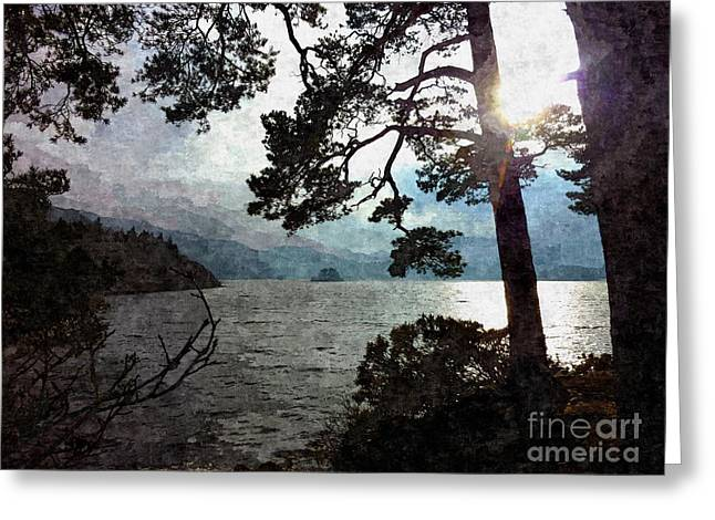 Sunset Prints Greeting Cards - Friars Crag  Greeting Card by Lisa James
