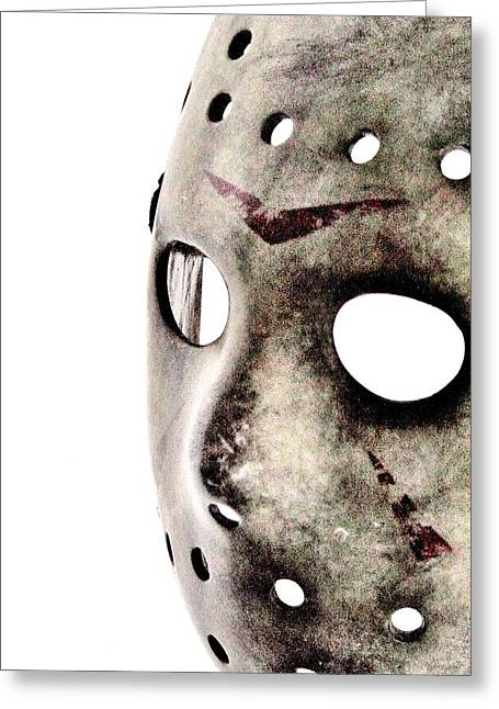 Horror Film Greeting Cards - Friday the 13th Greeting Card by Benjamin Yeager