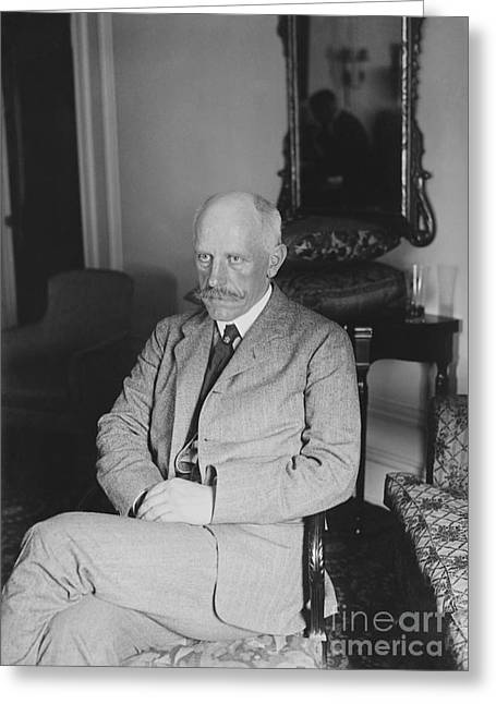 Nobel Peace Prize Greeting Cards - Fridtjof Nansen, Norwegian Explorer Greeting Card by Library Of Congress