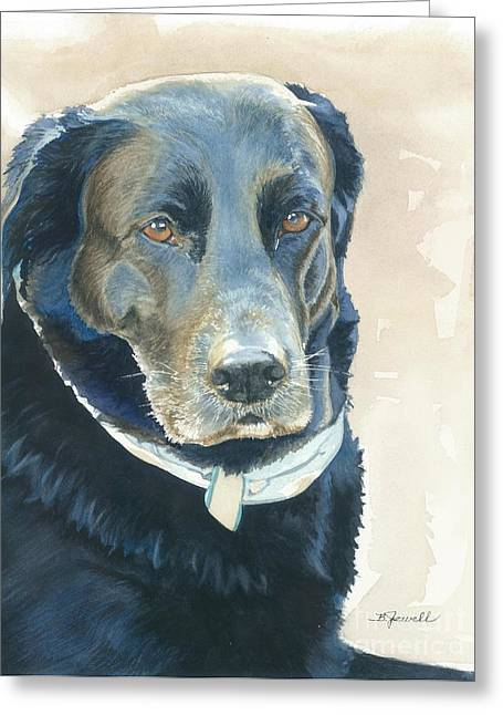 Mans Best Friend. Greeting Cards - Friend Forever Greeting Card by Barbara Jewell